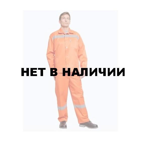 Костюм Дорожник-Эконом (оранжевый) РАСПРОДАЖА