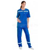 Комплект одежды медицинской женской Скорая помощь(блуза и брюки) (распродажа)