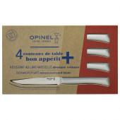 Набор столовых ножей Opinel, полимерная ручка, нерж, сталь, кор. 001904