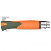 Нож Opinel №12 Explore, оранжевый, блистер