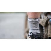 Водонепроницаемые носки Dexshell Thin серые S (36-38)
