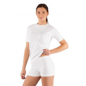 Футболка женская Alba/ короткий рукав/ синтетика/ белый/ L-XL
