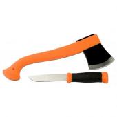 Набор Morakniv Outdoor Kit MG, нож Mora 2000 + топор (оранжевый), 12096