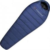 Спальный мешок Trimm Trekking TRAPER, синий, 195 R
