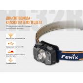 Налобный фонарь Fenix HL32Rb голубой