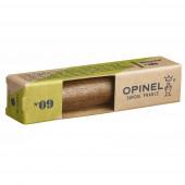 Нож Opinel №9, нержавеющая сталь, ореховая рукоять в картонной коробке, 002425