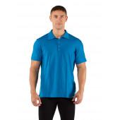 Футболка мужская DINGO/ короткий рукав/ шерсть 160/ голубой/ XL