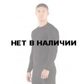 Футболка мужская Apol/ длинный рукав/ синтетика/ черный/ L-XL