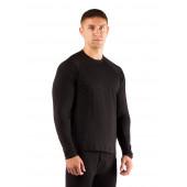 Футболка мужская Atar/ длинный рукав/ шерсть 160/ черный/ M