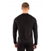 Футболка мужская Atar/ длинный рукав/ шерсть 160/ черный/ S