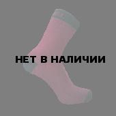 Водонепроницаемые носки DexShell Ultra Thin Crew L (43-46), бордовый/черный