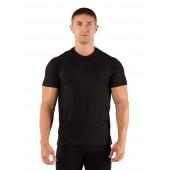 Футболка мужская Quido/ короткий рукав/ шерсть 160/ черный / XL