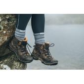 Водонепроницаемые носки Dexshell Terrain Walking серые M (39-42)