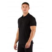 Футболка мужская DINGO/ короткий рукав/ шерсть 160/ черный / L