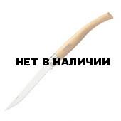 Нож филейный Opinel №12, нержавеющая сталь, рукоять из дерева бука