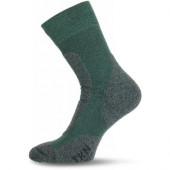 Носки Lasting TKN 620, polypropylene+nylon, зеленый с серой вставкой, размер XL (TKN620-XL)