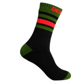 Водонепроницаемые носки DexShell Ultra Dri Sports Socks S (36-38) с оранжевой полосой