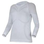 Футболка женская Atala/ длинный рукав/ синтетика/ белый/ S-M