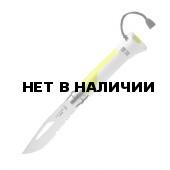 Нож Opinel №8 Fluo Yellow, желтый, 002320