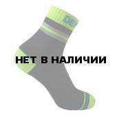 Водонепроницаемые носки DexShell Pro visibility Cycling S (36-38) Зеленая полоска