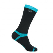 Водонепроницаемые носки DexShell Coolvent Aqua Blue L (43-46)