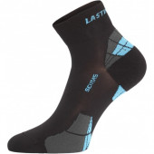 Носки Lasting CTF 905, polypropylene+nylon, черный/синий, размер S (CTF905S)