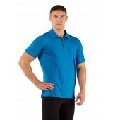 Футболка мужская DINGO/ короткий рукав/ шерсть 160/ голубой/ M