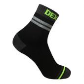 Водонепроницаемые носки DexShell Pro visibility Cycling S (36-38) Серая полоска