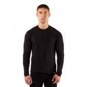 Футболка мужская Atar/ длинный рукав/ шерсть 160/ черный/ L