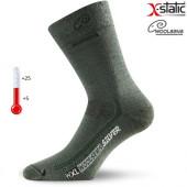 Носки Lasting WXL 620, wool+nylon, темно-зеленый, размер XL (WXL620-XL)