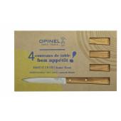 Набор столовых ножей Opinel N°125, дерев. рукоять, нерж, сталь, кор. 001515