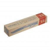 Нож Opinel №13, нержавеющая сталь, рукоять из бука, кожаный темляк, картонная коробка
