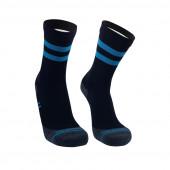 Водонепроницаемые носки DexShell Running Lite с голубыми полосками S (36-38)