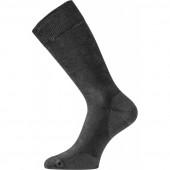 Носки Lasting PLF 900, cotton+polyester, черный, размер XL (PLF900XL)