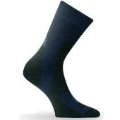 Носки Lasting TRP 698, wool+polyamide, зеленый с черными вставками, размер XL (TRP698-XL)