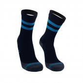 Водонепроницаемые носки DexShell Running Lite с голубыми полосками L (43-46)