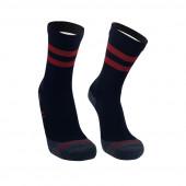 Водонепроницаемые носки DexShell Running Lite с красными полосками L (43-46)