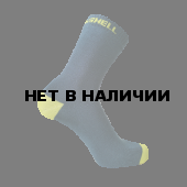 Водонепроницаемые носки DexShell Ultra Thin Crew XL (47-49), синий/желтый