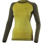 Футболка женская DITA/ длинный рукав/ шерсть 160/ коричневая/ S