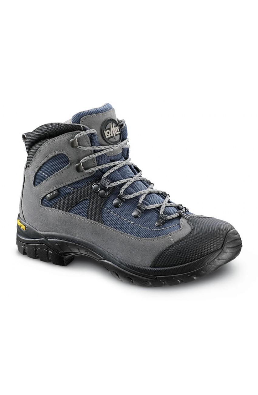 Ботинки трекинговые LOMER Fiemme gray navy black, производитель ... ee7de945024