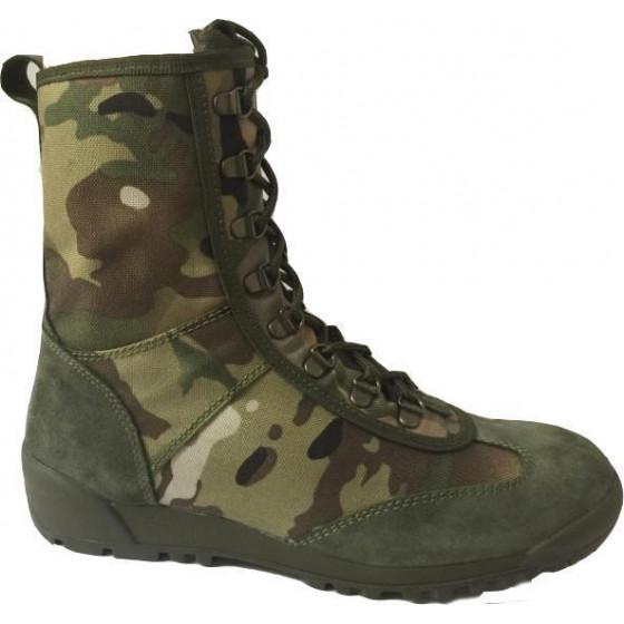 Штурмовые ботинки городского типа КОБРА велюр-кордура 12222 multicam