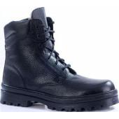 Зимние ботинки с невысокими берцами ПИЛОТ кожа-овчина 181