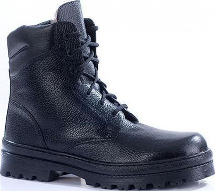 ec757ca6a77e Зимние ботинки с невысокими берцами ПИЛОТ кожа-овчина 181 ...