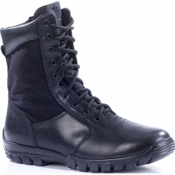 Ботинки облегченные с высокими берцами ТРОПИК ЗИП кожа-нейлон 1000D 1010