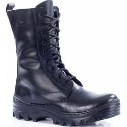 Зимние ботинки с высокими берцами АВИАТОР кожа-овчина 79