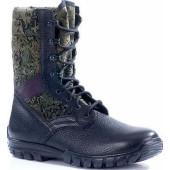 Ботинки облегченные с высокими берцами ТРОПИК цифра кожа-нейлон 1000D 7161И