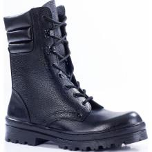 Ботинки с высокими берцами ОМОН кожа 701