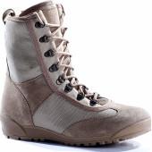 Летние штурмовые ботинки городского типа КОБРА пустыня велюр-хлопок 12020