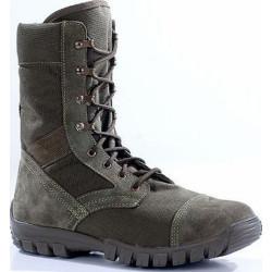 Ботинки облегченные с высокими берцами ТРОПИК олива велюр-нейлон 1000D 3351