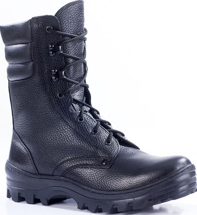 Зимние ботинки с высокими берцами ОМОН кожа 905 натуральный мех ... f7e55cf35ca